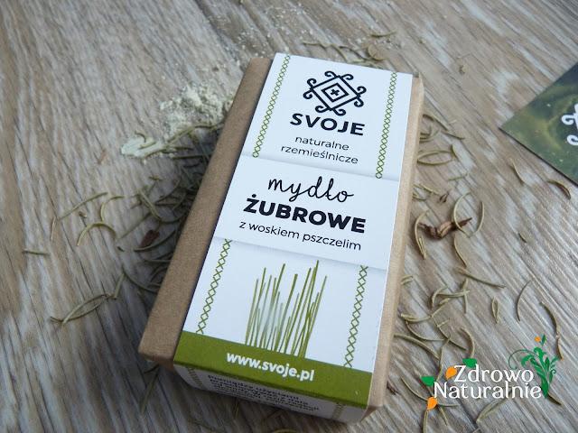 Svoje - Mydło żubrowe z woskiem pszczelim 110 g