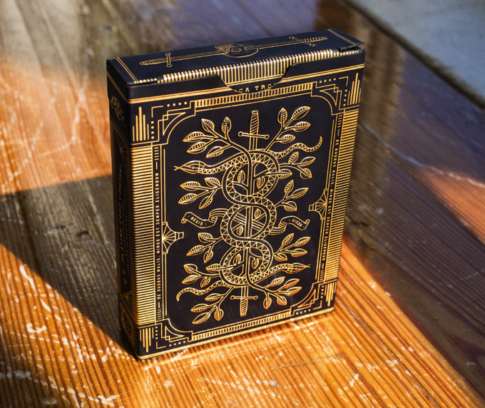 Curtis Jinkins Playing Cards Box Design