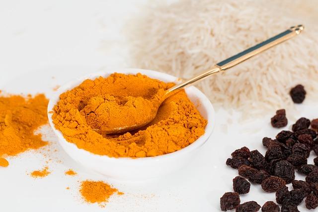 turmeric-turmeric tea-golden tea-yellow tea-root-ground-black-pepper