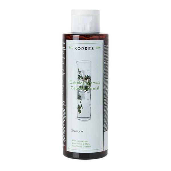 shampoo KORRES Aloe Vera e Díctamo resenha