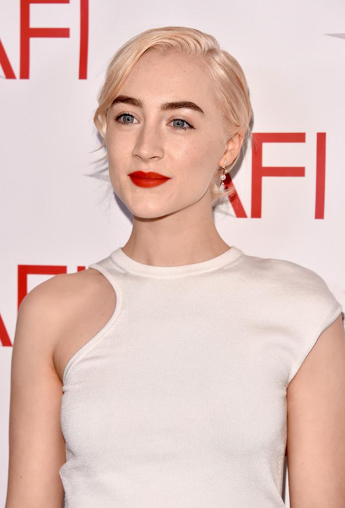 Saoirse Ronan Posing at the 18th Annual AFI Awards