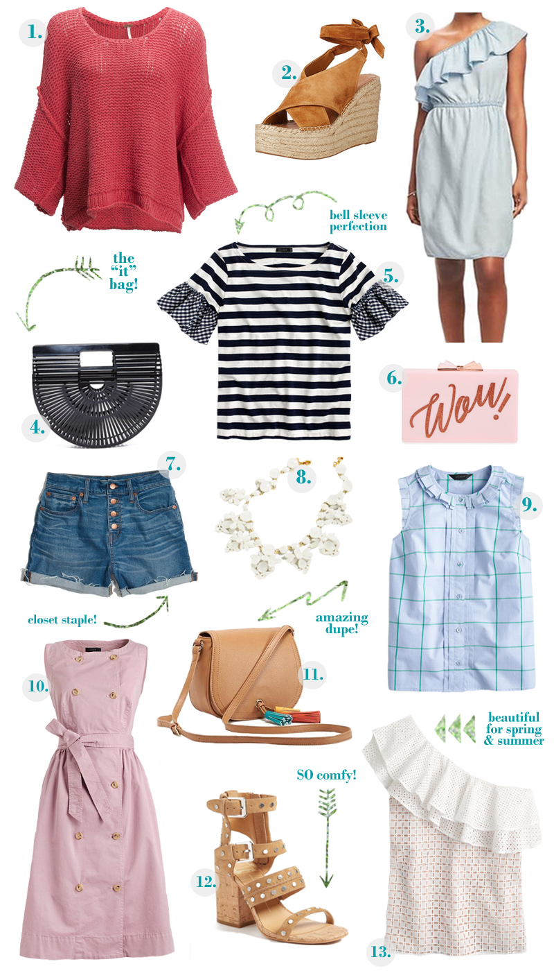My Spring Wish List + 25% off Shopbop Sale by fashion blogger Laura from Walking in Memphis in High Heels