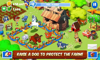 is the most popular casual game offered by Gameloft available for all Android devices Green Farm 3 MOD APK [Unlimited Money/Cash/Coins] Hack Android v4.0.6