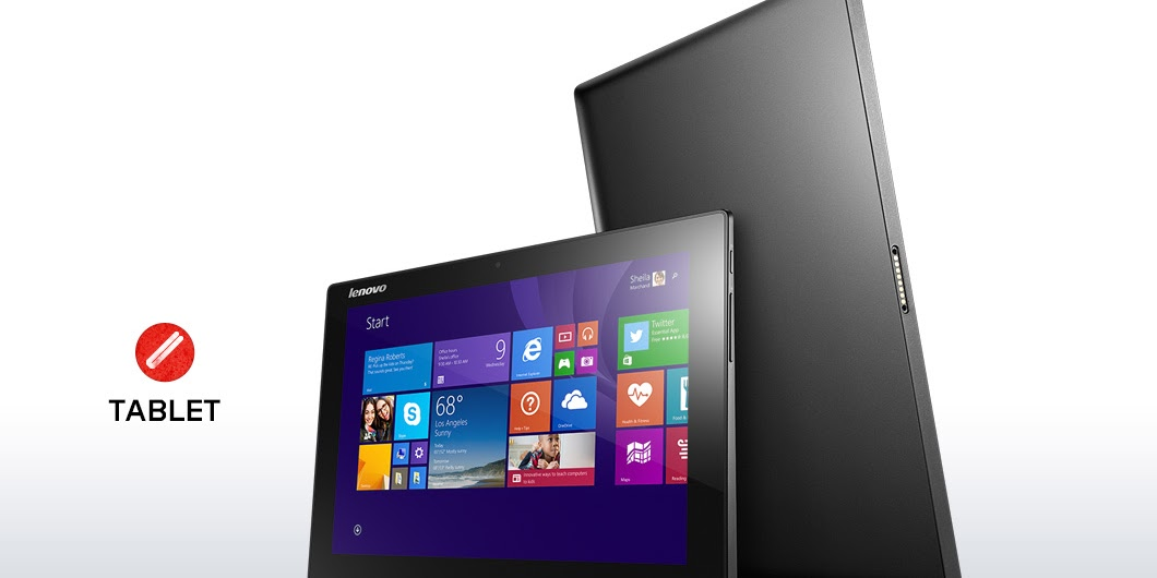 Harga Lenovo Miix 3 Terbaru Desember 2016, Tablet Windows 10 Inci Prosesor Quad Core 1.8 GHz