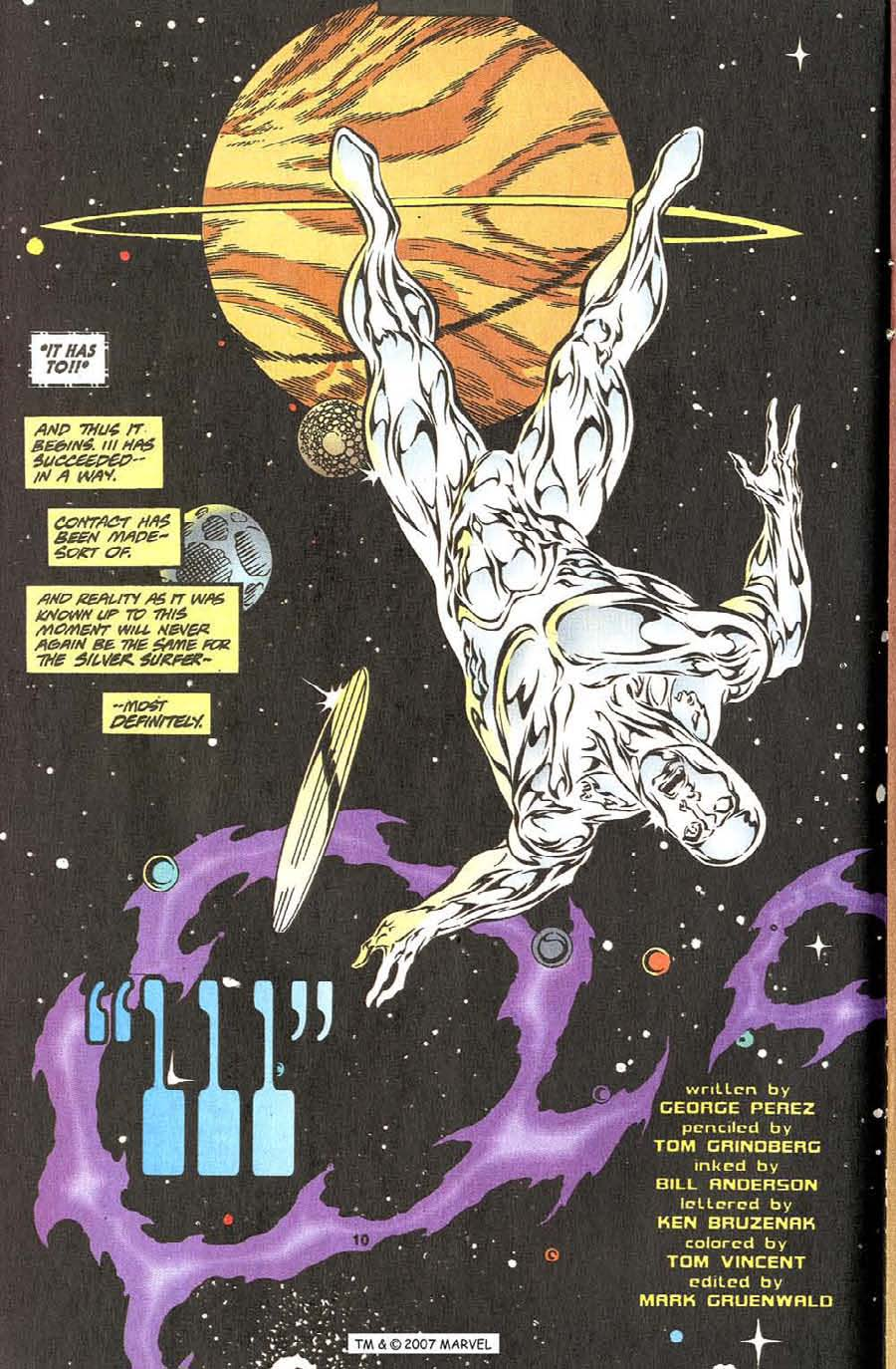 Read online Silver Surfer (1987) comic -  Issue #111 - 12