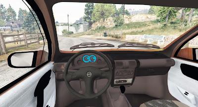 Chevrolet Classic para GTA 5 - interior