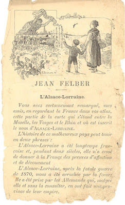 Manuel de lecture, 1891 (collection musée)