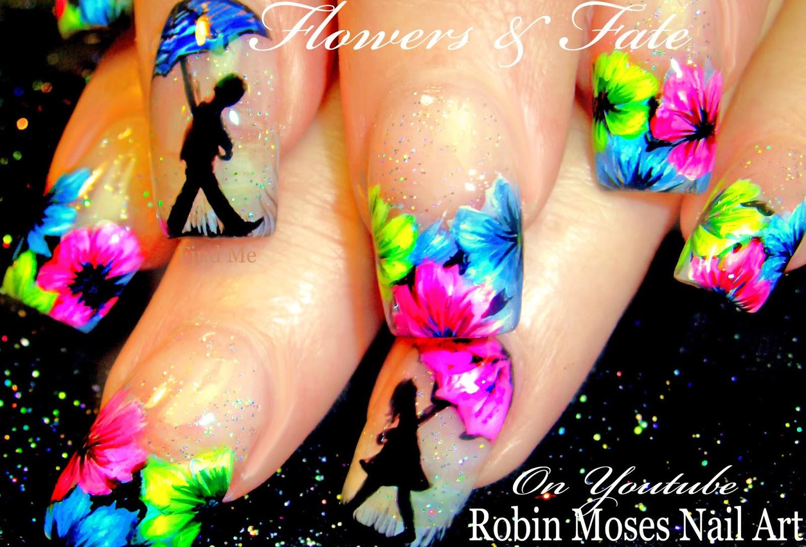 Robin Moses Nail Art Brushes Tecstar