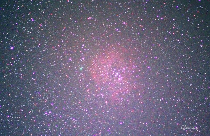 comet Oukaimeden(C/2013 V5) &  Rosette nebula