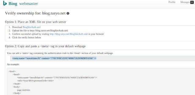 Trik jitu menaikan Trafik Blog dan Website ala BING/Yahoo Webmaster Tools