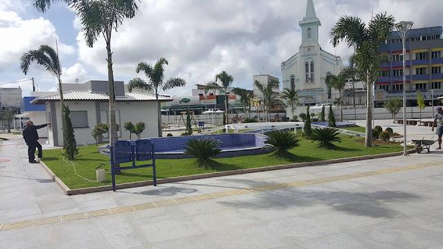 SAJ: Divulgadas fotos da reforma da nova Praça Padre Mateus ...