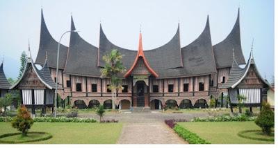 Rumah Adat Minangkabau - pustakapengetahuan.com