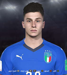 PES 2018 Faces Daniele Baselli by Prince Hamiz