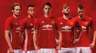 Manchester United Resmi Luncurkan Jersey Kandang Terbaru 2016-2017