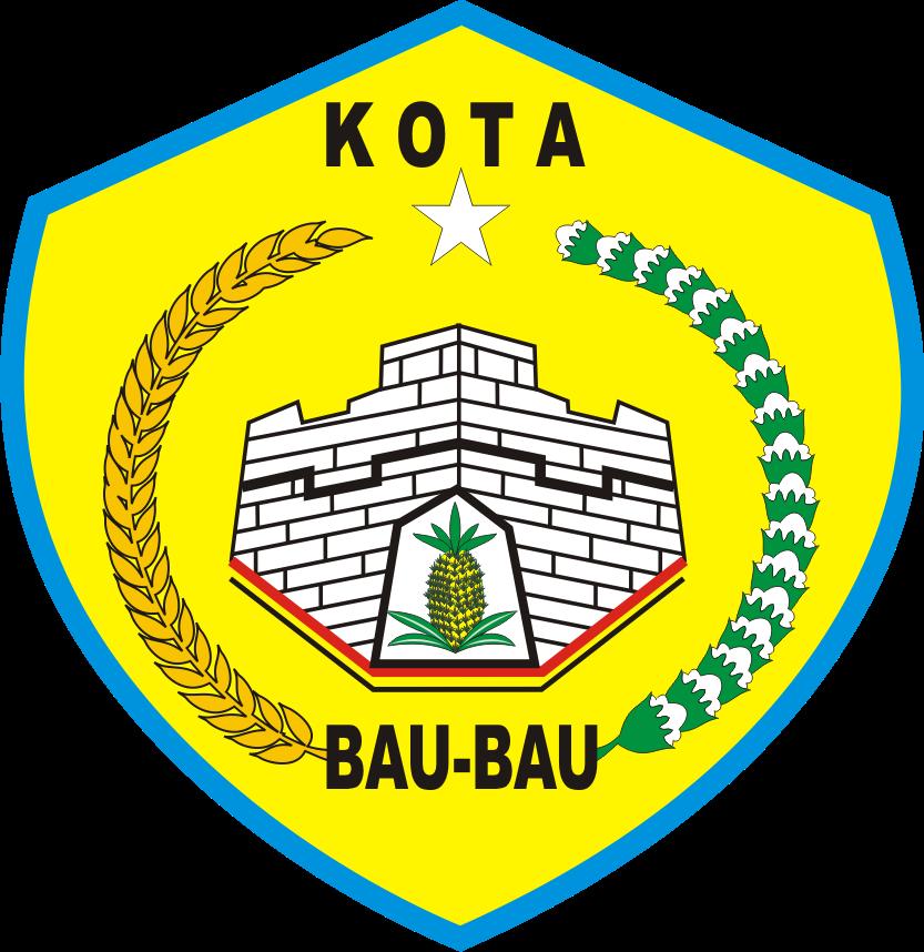 Logo Kota Baubau Kumpulan Logo Lambang Indonesia