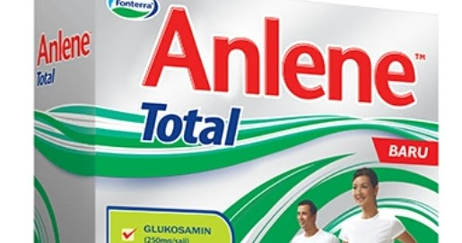 Anlene Total | The newest milk formula with Glucosamine