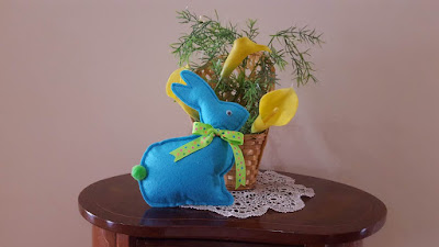 felt easter bunny tutorial and pattern