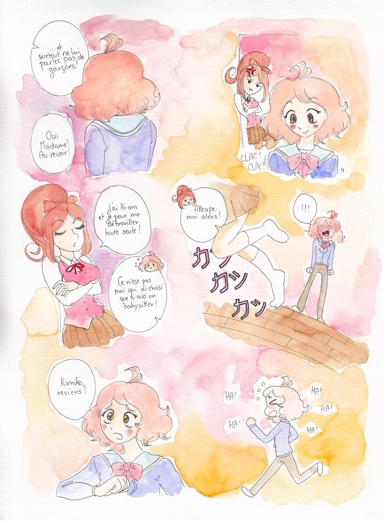 rêve en manga inspiré du style de Chocola et Vanilla