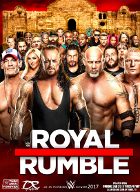 WWE Royal Rumble (2017) HDRip 750MB