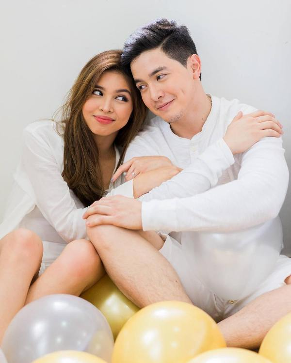 Alden Richards and Maine Mendoza's pre-nuptial photos