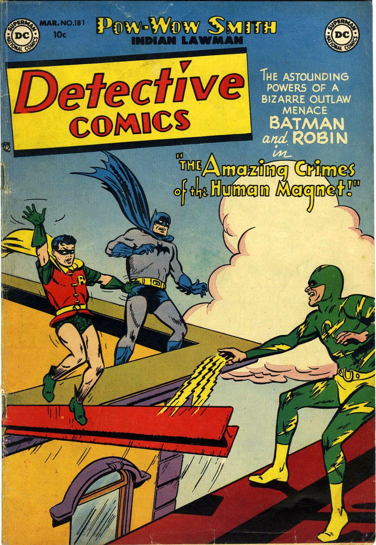 Read online Detective Comics (1937) comic -  Issue #181 - 1