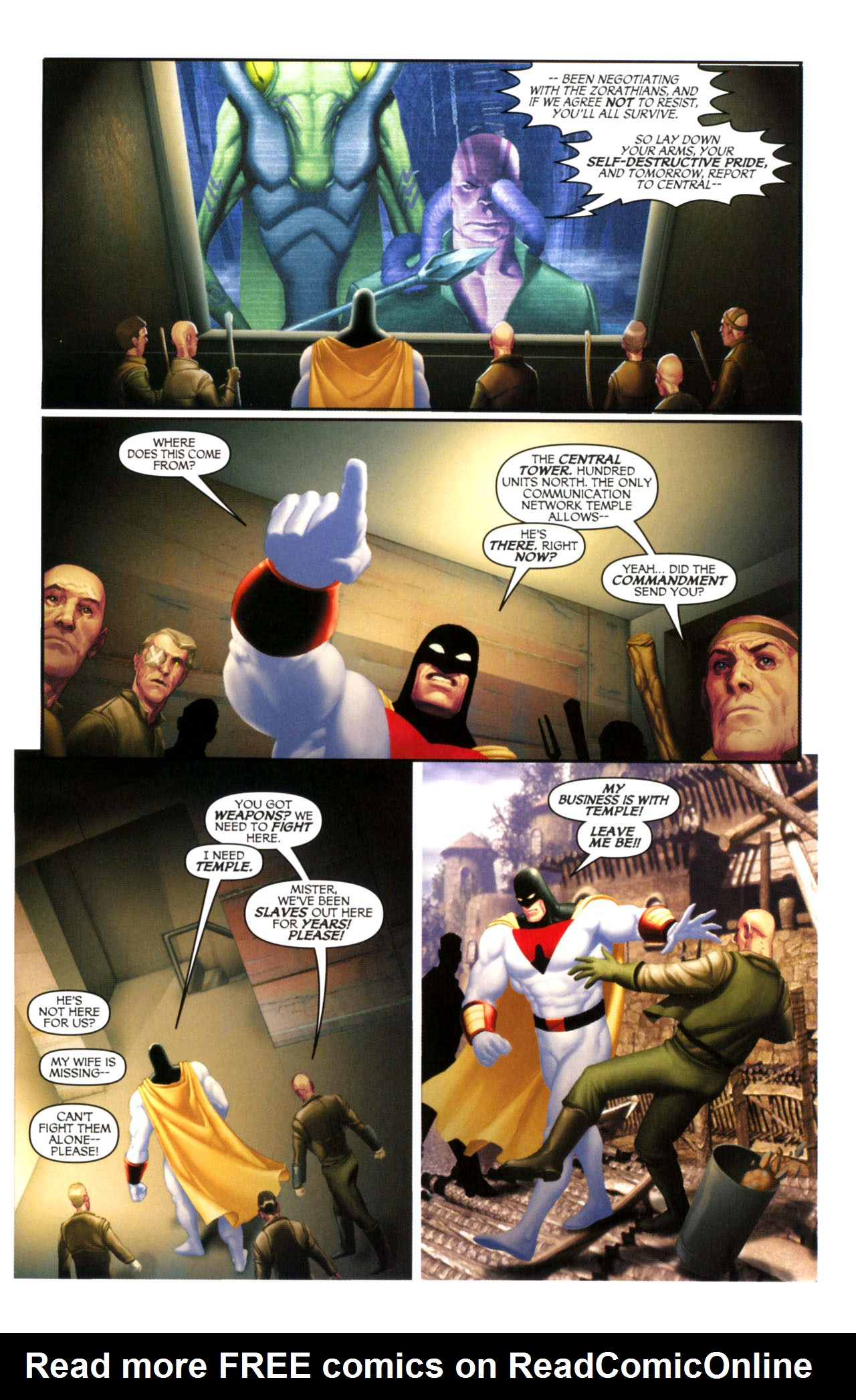Read online Space Ghost (2005) comic -  Issue #5 - 6