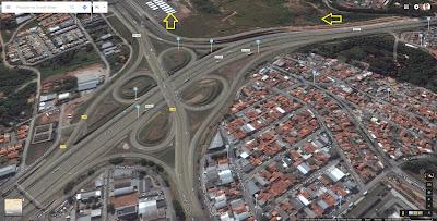 Trafegando pela marginal da Rodovia Dom Pedro I, o participante deverá atentar para a saída do km 133, em direção à Jaguariúna, Holambra e Mogi Mirim pela SP-340.