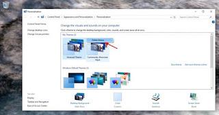 Cara Menginstall dan Cara Menghapus Tema Windows 10