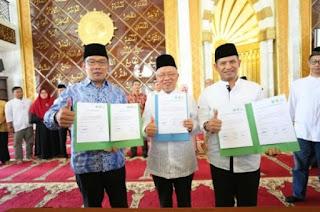 Pemkot Bandung Luncurkan Program Koperasi Syariah Berbasis Masjid
