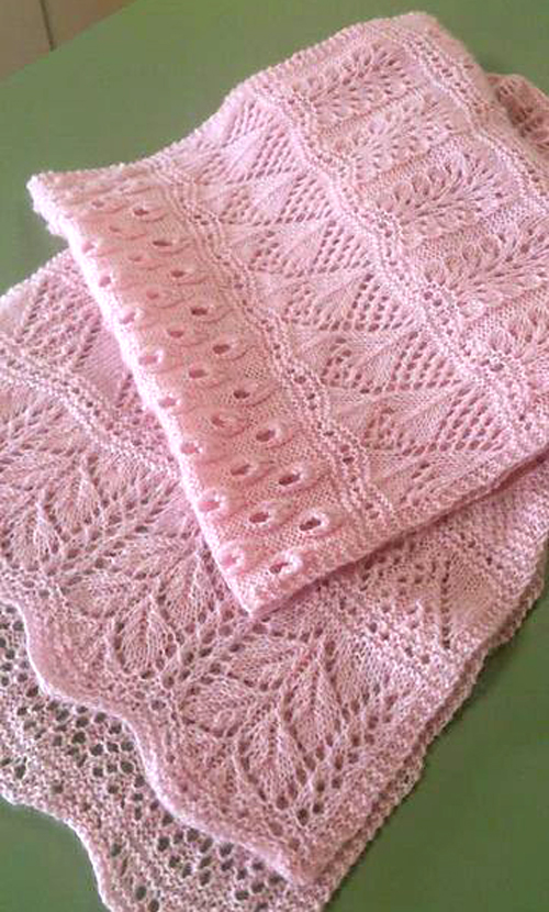 Advent Calender Scarf - Free Knitting Pattern