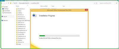 Microsoft Office 2010 installation