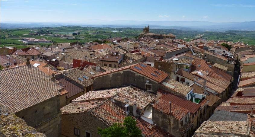 Vistas de Laguardia.