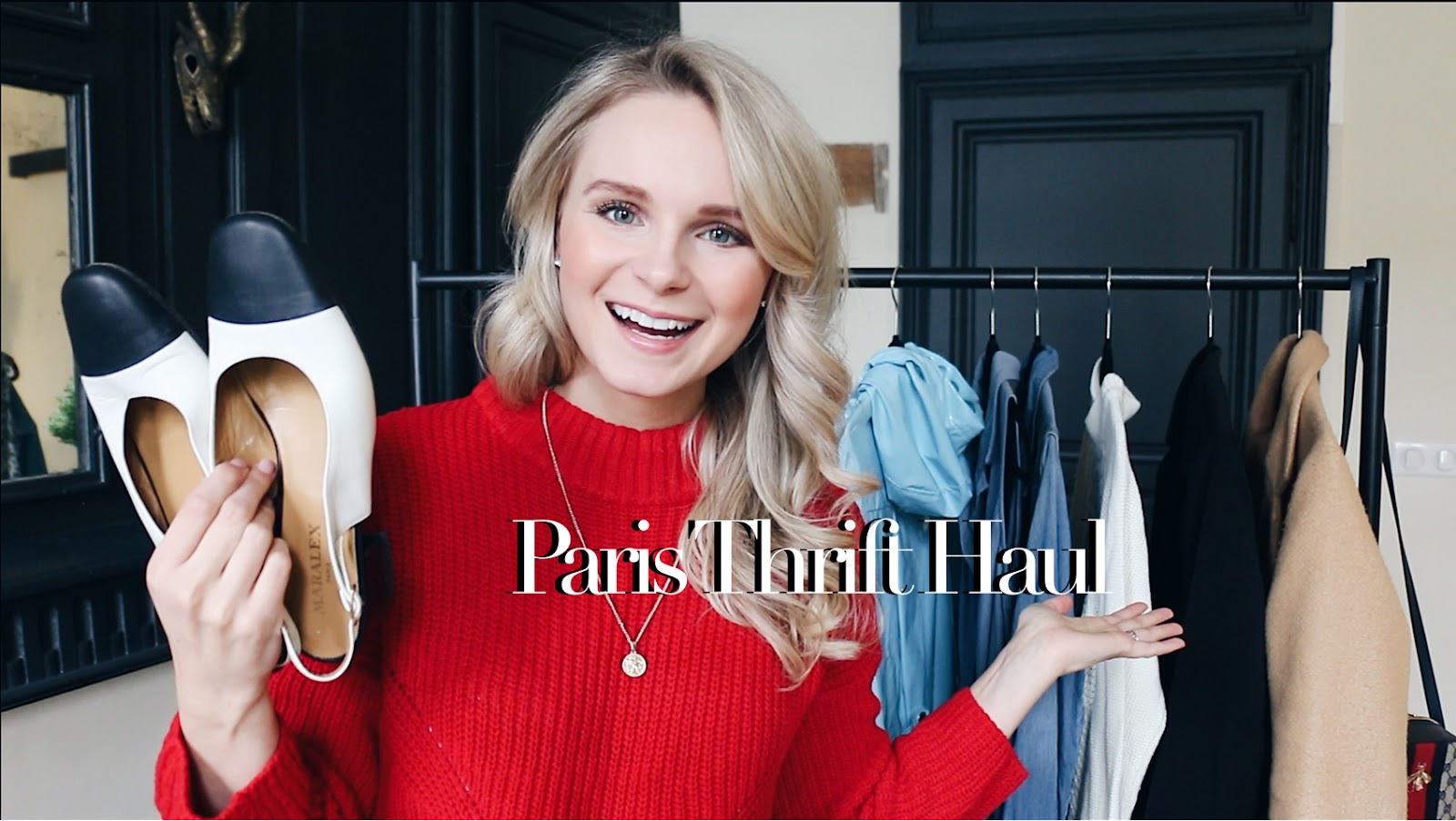 paris thrift haul video youtube