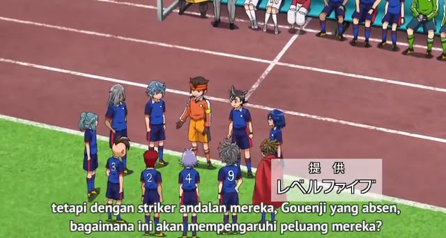 Inazuma Eleven: Orion no Kokuin Episode 5 Subtitle Indonesia