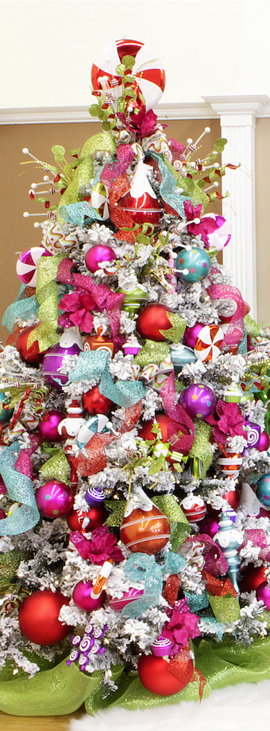 Colorful Whimsical Christmas Tree