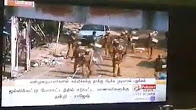 Police Keeping Fire To Houses In Chennai Marina IceHouse Triplicane Live Video