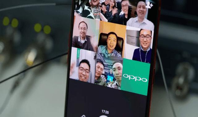 """"""" أوبو"""" تنجح في إجراء أول مكالمة جماعية على هاتف الأندرويد باستخدام الجيل الخامس 5G"""