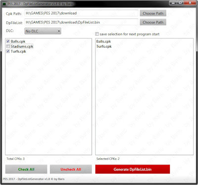 [PC] DpFileList Generator v1.8