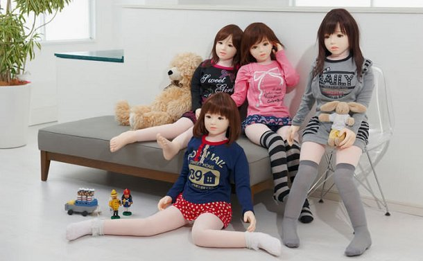 Girl With Doll Porn