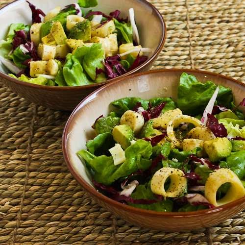 Kalyn's Kitchen®: Rich Salad With Hearts Of Palm, Avocado