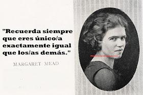 Mujerícolas Margaret Mead Antropóloga