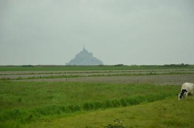 El Monte Saint-Michel.