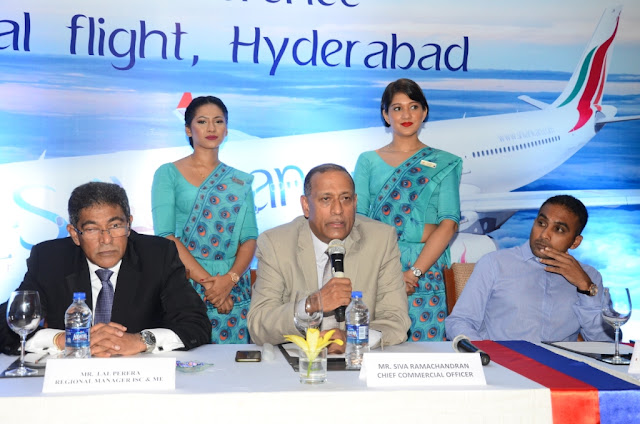 SriLankan Airlines launches services to Hyderabad