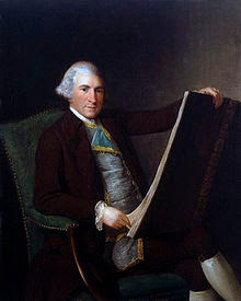 Portrait of Robert Adam by George Willison