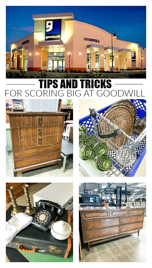 The best tips and tricks for scoring big at Goodwill