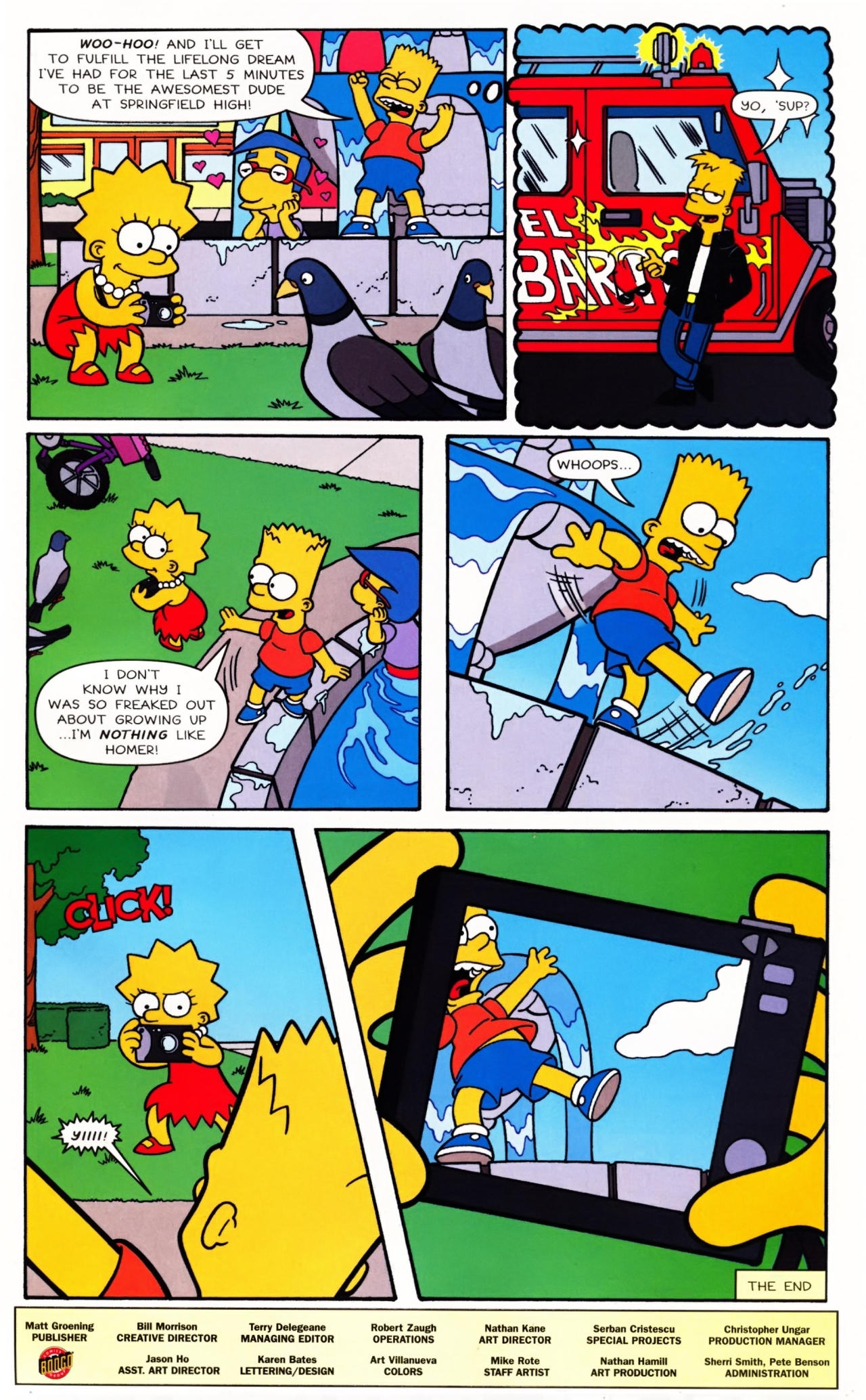 Read online Simpsons Comics Presents Bart Simpson comic -  Issue #42 - 33