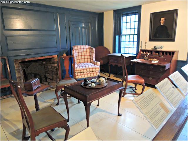 Museo Concord: Habitación Mediados del s. XVIII