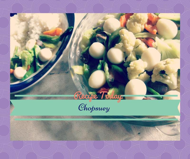 Chopsuey Recipe for Picky Eater Kids #PorkSavor