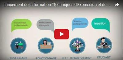 """Lancement de la nouvelle formation TEC """"Technique d'Expression et de Communication"""""""