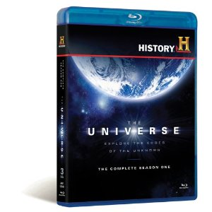 The Universe Season 1 Set of Blu-ray disks